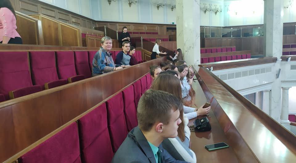 Учні Новограда-Волинського перебувають на екскурсії у Верховній Раді України, фото-4
