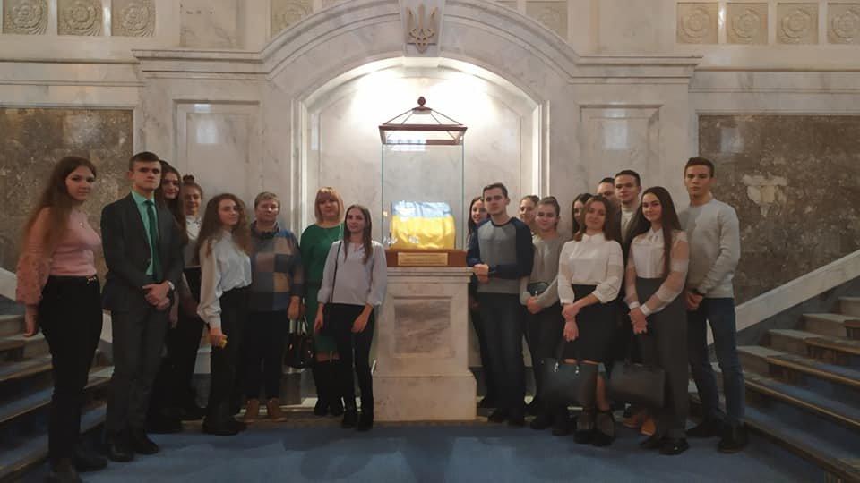 Учні Новограда-Волинського перебувають на екскурсії у Верховній Раді України, фото-1