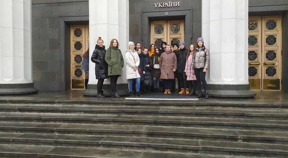 Учні Новограда-Волинського перебувають на екскурсії у Верховній Раді України, фото-2