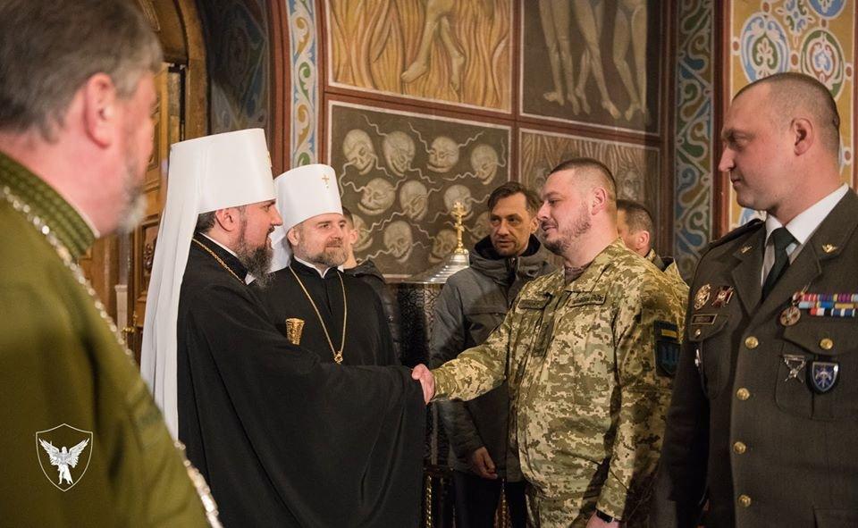 Командир 30-тої бригади отримав копію ікони «Покрови воїнської»., фото-7