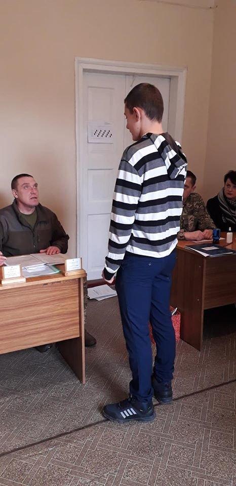 У Новоград-Волинському ОМВК розпочали приписку юнаків 2003 року народження, фото-1