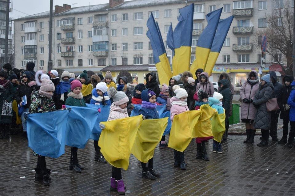 У Новограді-Волинському відзначили День Соборності України, фото-2