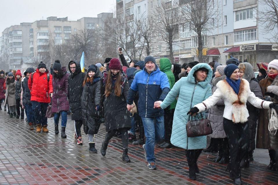 У Новограді-Волинському відзначили День Соборності України, фото-3