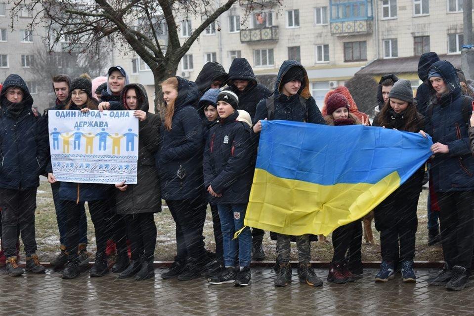 У Новограді-Волинському відзначили День Соборності України, фото-5