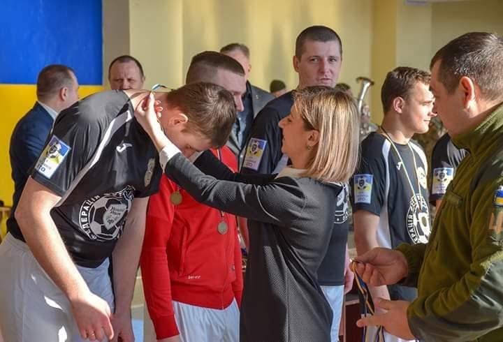 Футбольна команда 30-тої бригади прийняла участь в чемпіонаті з футзалу ОК «Північ», фото-2