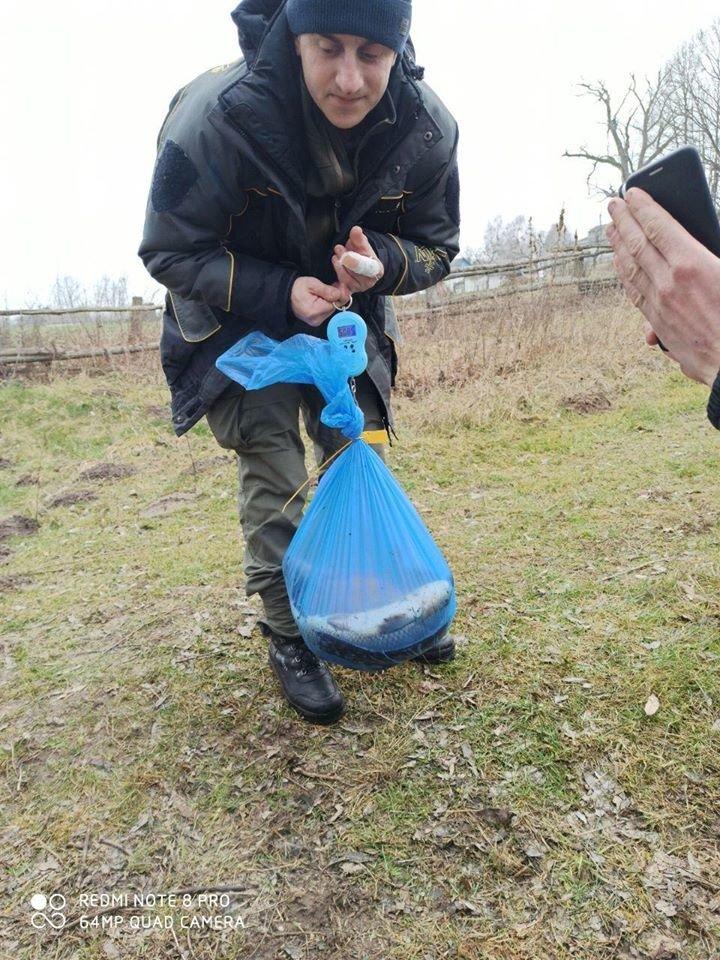 У Новоград-Волинському районі виявлено два грубих порушення правил рибальства, фото-2