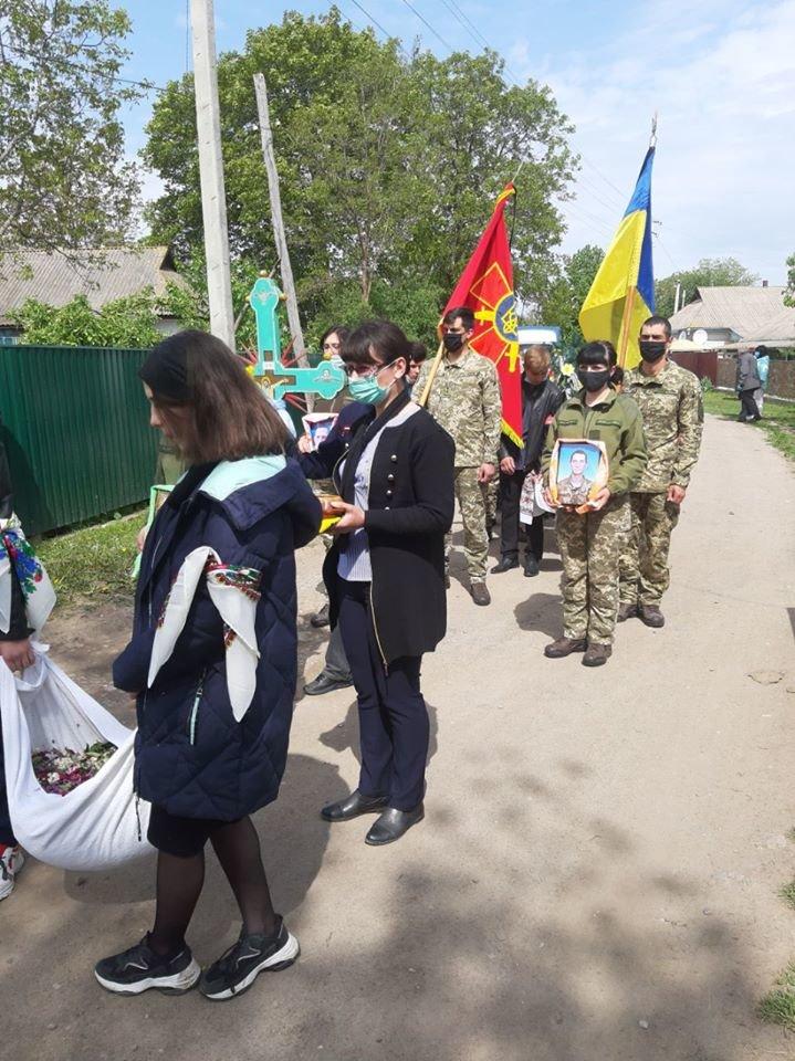 В останню путь провели Карпику Олександра, який трагічно загинув в ООС, фото-3