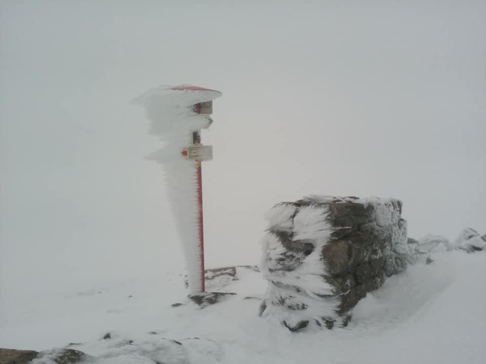 В перший день літа у Карпатах падає сніг (ФОТО), фото-1