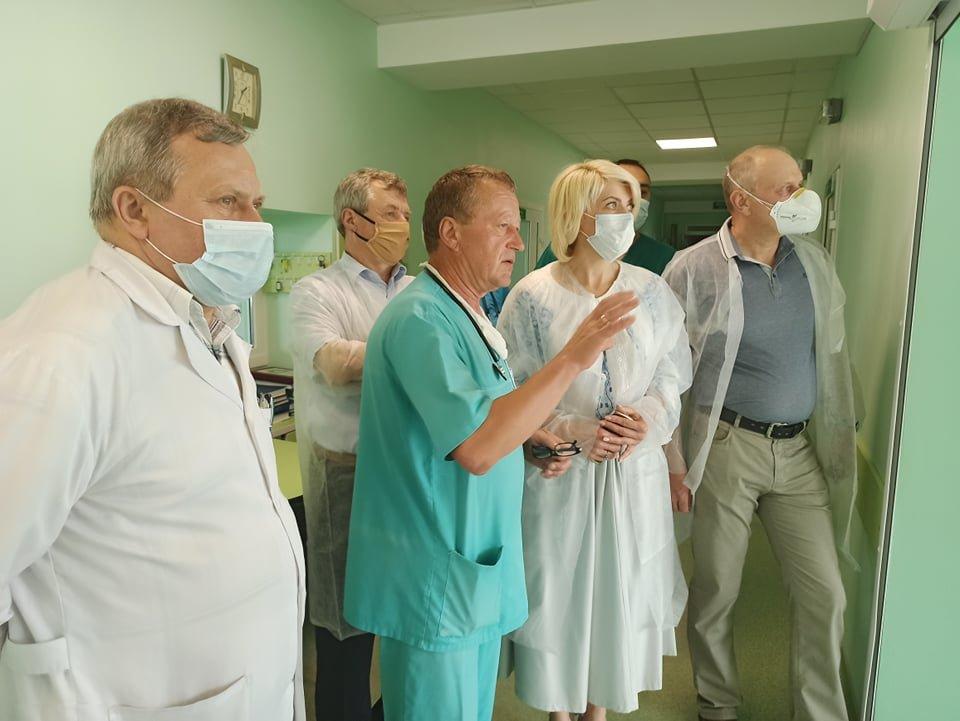 У Новограді перевірили забезпечення засобами індивідуального захисту та медичним обладнанням КНП «Новоград-Волинське міськрай ТМО», фото-1