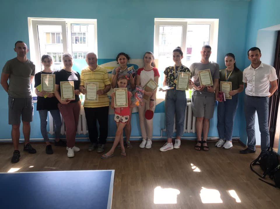 Попри карантин у Новограді жінки грали у настільний теніс: Хто виборов призові місця , фото-1