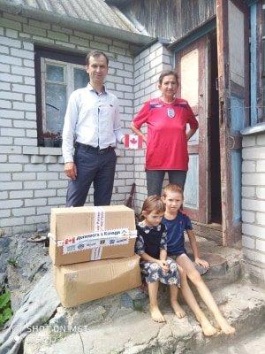 Допомогу від української діаспори з Канади отримали сім'ї Новоград-Волинського району, фото-3
