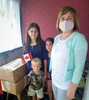 Допомогу від української діаспори з Канади отримали сім'ї Новоград-Волинського району, фото-1
