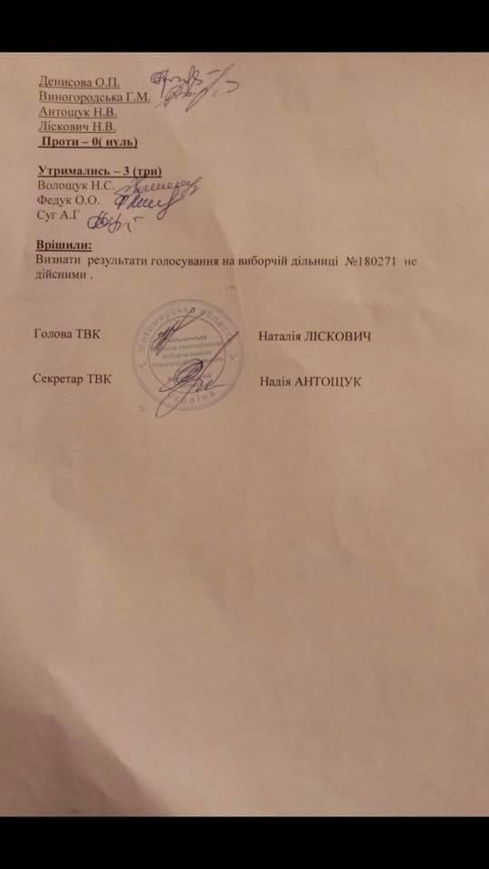 На скандальній дільниці на Новоград-Волинщині скасували результати виборів, фото-2
