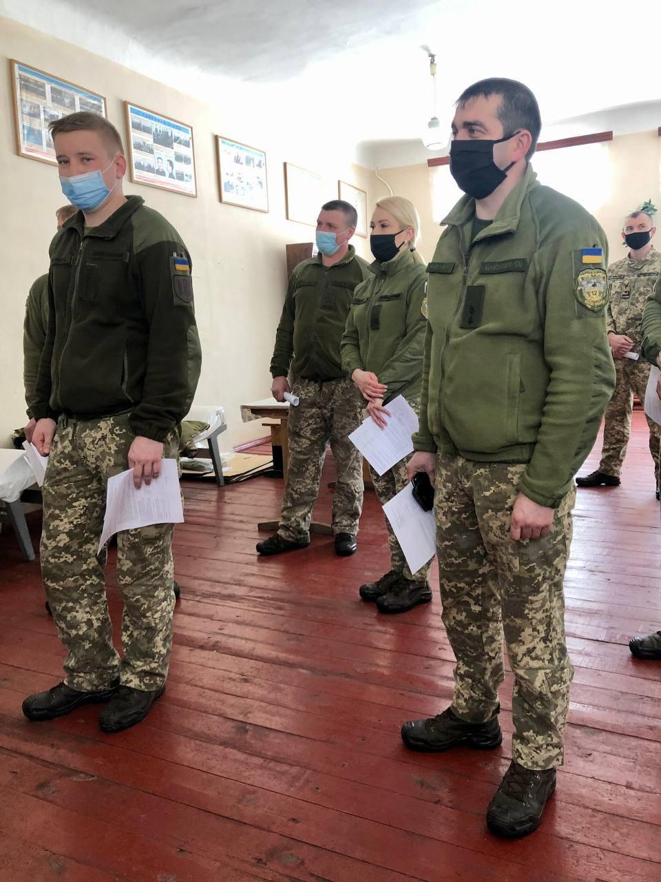 У Новограді розпочалася вакцинація військовослужбовців від Covid-19., фото-3
