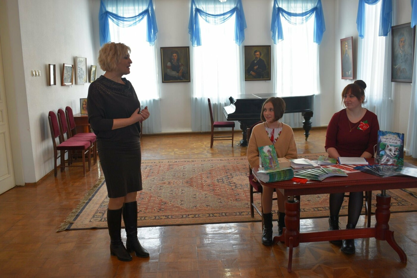 У Новограді відбулася презентація унікальної дитячої книги «Билинонька», фото-1