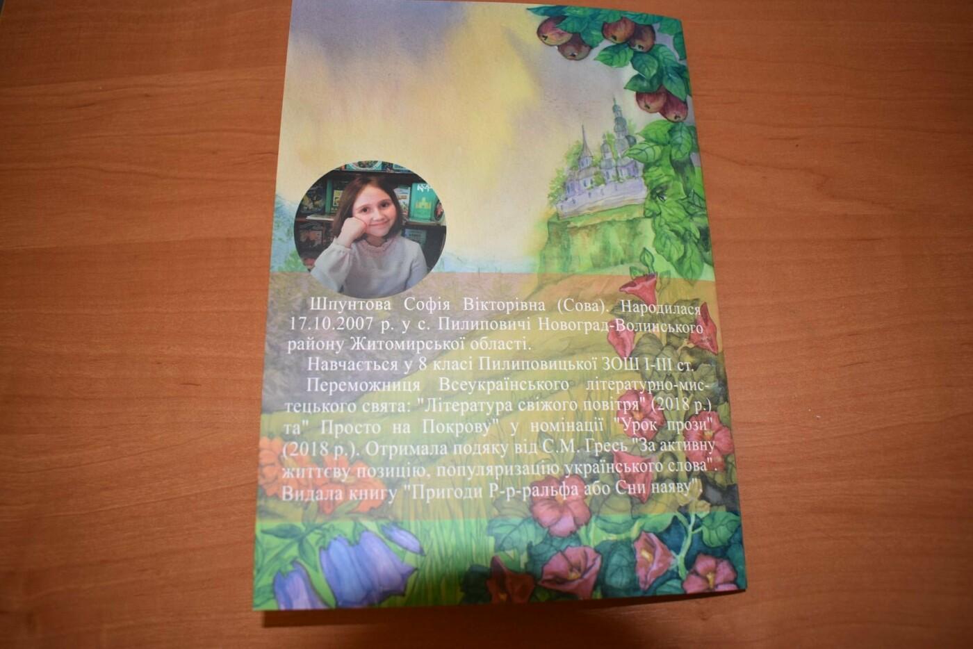 У Новограді відбулася презентація унікальної дитячої книги «Билинонька», фото-5