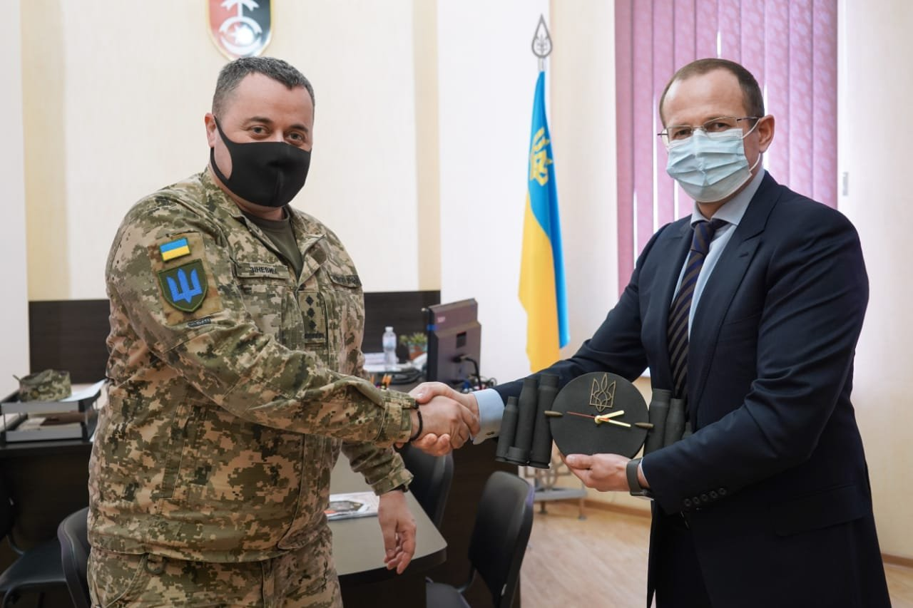 Голова обласної ради відвідав 30-ту окрему механізовану бригаду імені Костянтина Острозького, фото-1