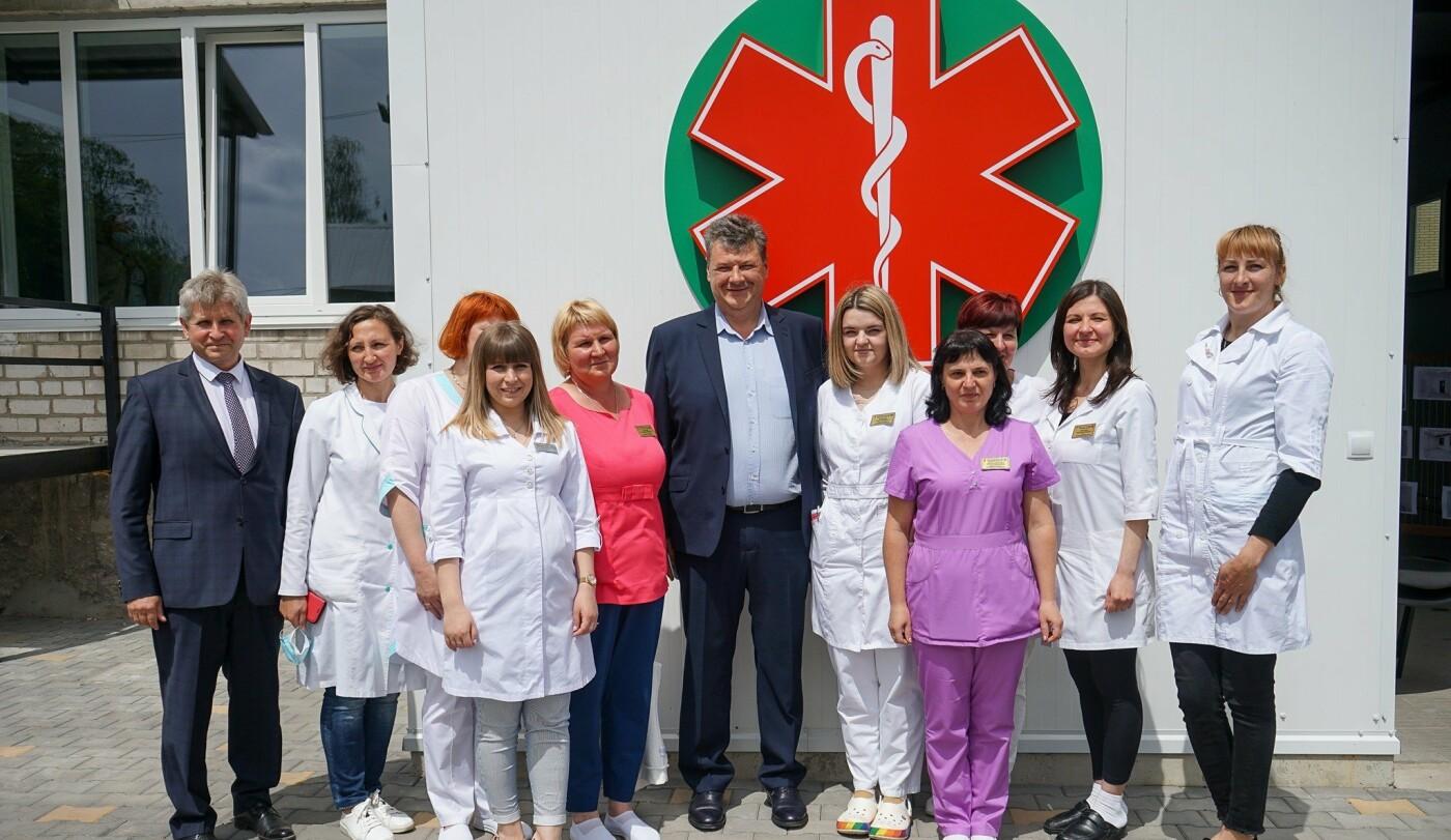 У Новограді відкрили спеціалізовану приймальню для карет швидкої допомоги, фото-6